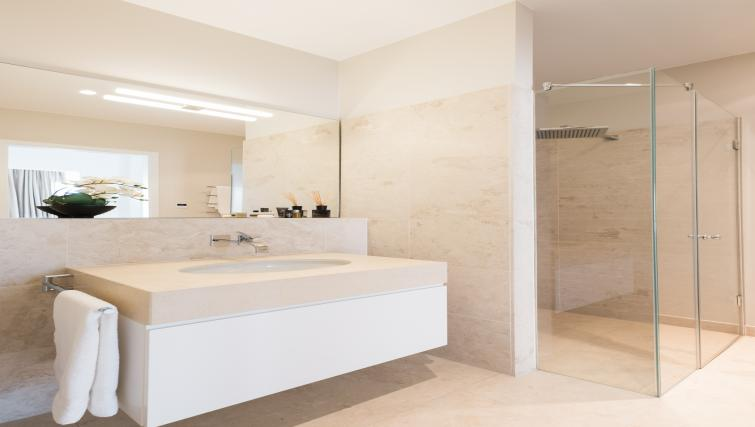 Bathroom at InTown Residences - Citybase Apartments