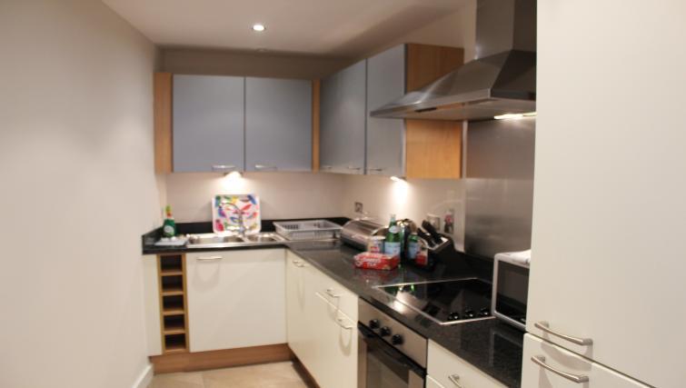 Kitchen at The Alliance Apartment - Citybase Apartments