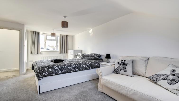 Bedroom at Glan Yr Afon Townhouse - Citybase Apartments