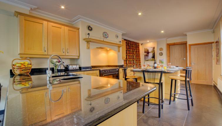 Kitchen at Pontcanna Townhouse - Citybase Apartments