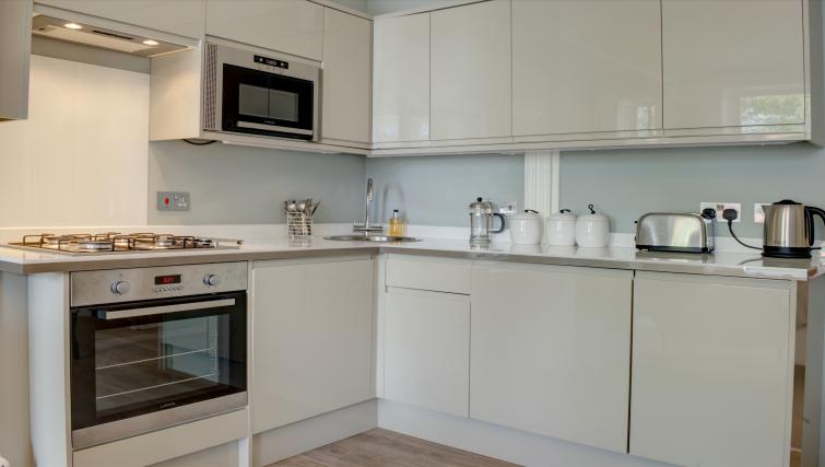Kitchen at Montpellier Spa Road Apartment - Citybase Apartments