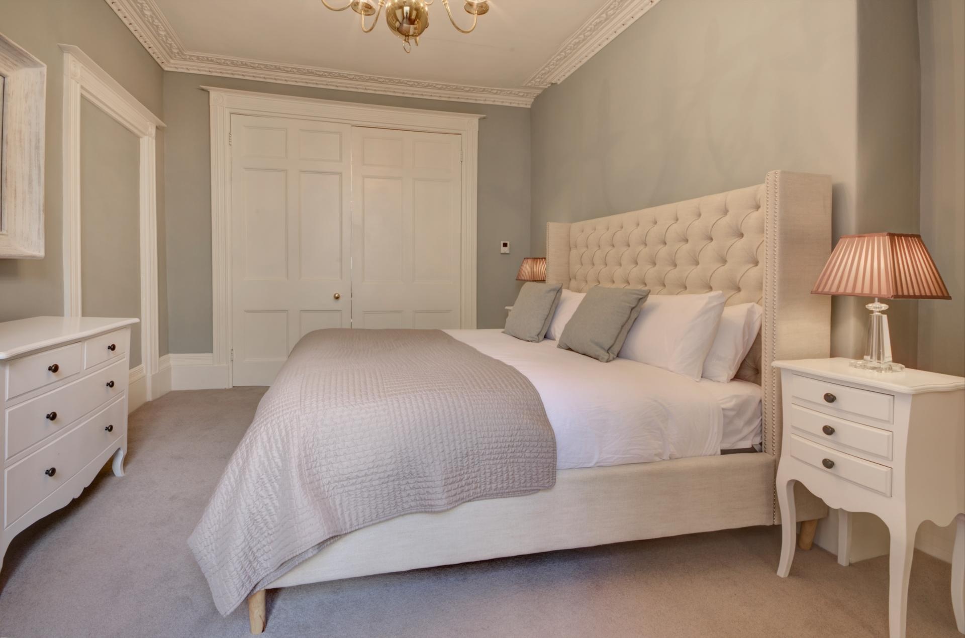 Stylish bedroom at Montpellier Spa Road Apartment - Citybase Apartments