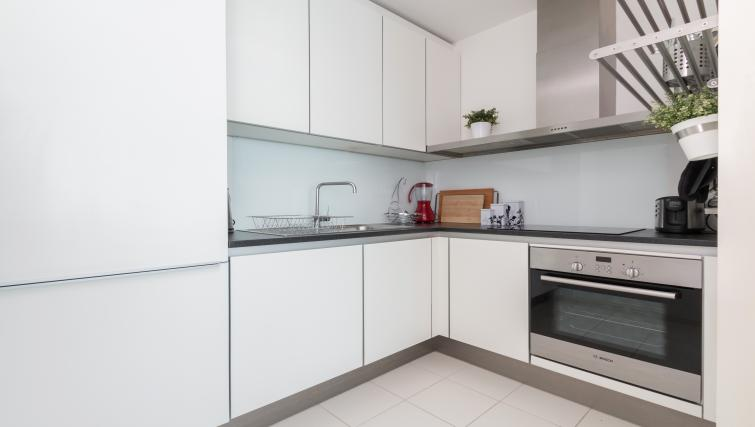 Kitchen at Canalside Living Apartments - Citybase Apartments