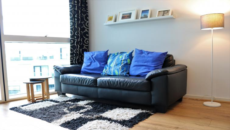Lounge at Canalside Living Apartments - Citybase Apartments