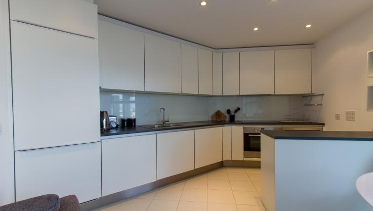 Spacious kitchen at Canalside Living Apartments - Citybase Apartments