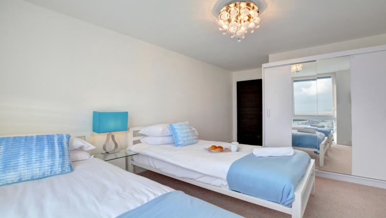 Twin beds at Orion Apartment - Citybase Apartments