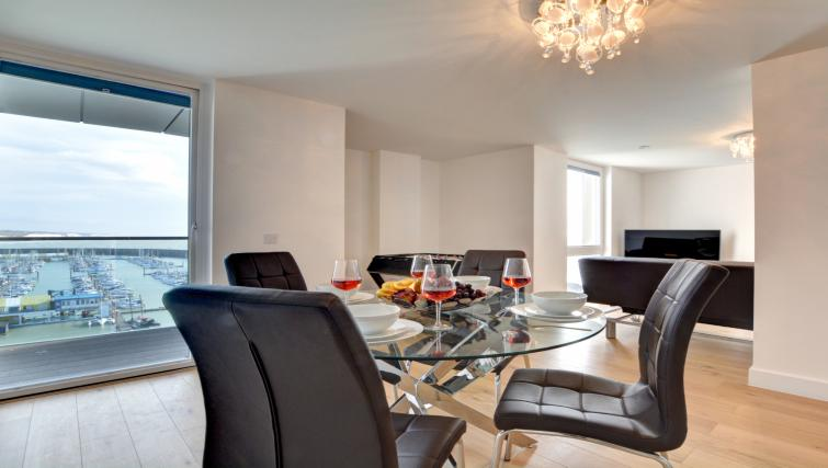 Dining table at Orion Apartment - Citybase Apartments