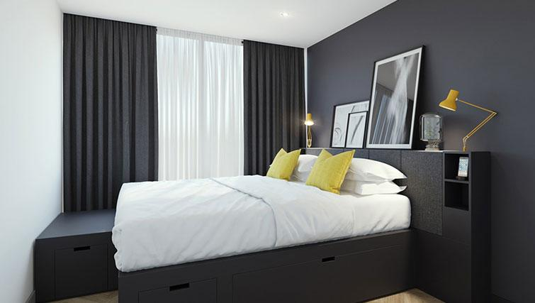 Bedroom at Staycity Aparthotel Dublin Castle - Citybase Apartments