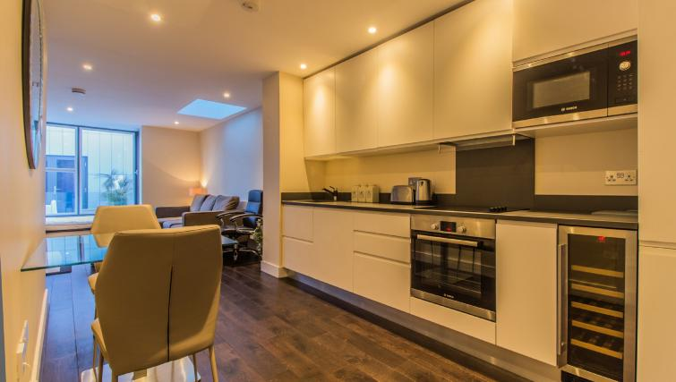 Kitchen at Liverpool Street Apartment - Citybase Apartments
