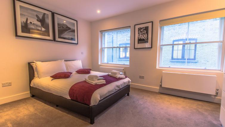 Bedroom at Liverpool Street Apartment - Citybase Apartments