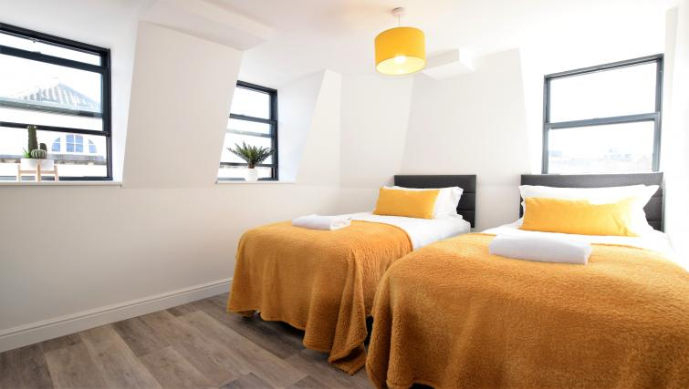 Twin beds at Haven Apartments - Citybase Apartments