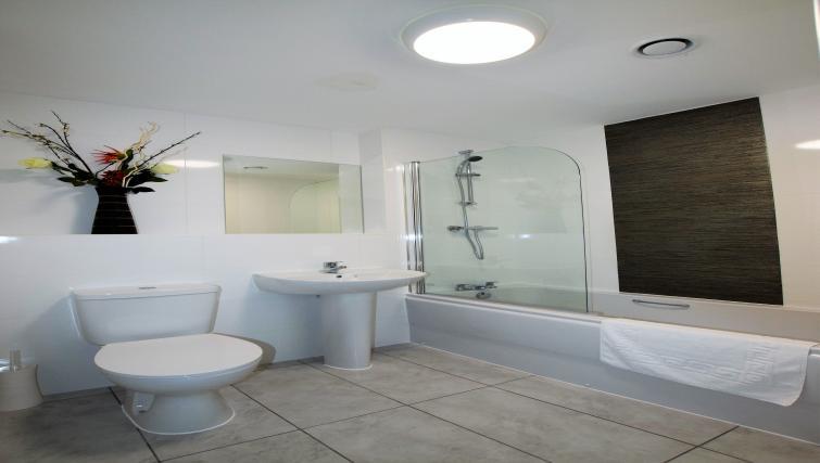 Bathroom at Haven Apartments - Citybase Apartments