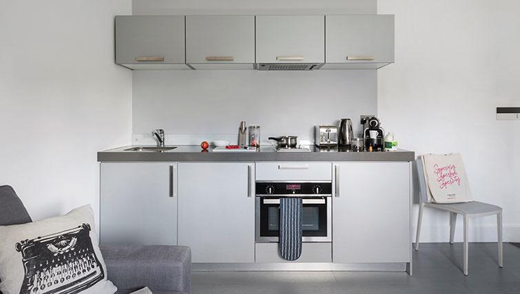 Kitchen at Templeton Place Aparthotel - Citybase Apartments