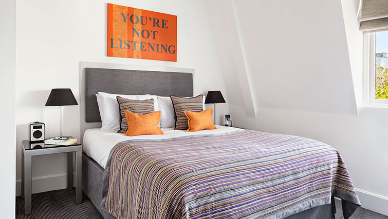 Bedroom at Templeton Place Aparthotel - Citybase Apartments