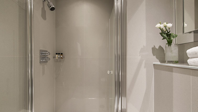 Shower at Templeton Place Aparthotel - Citybase Apartments