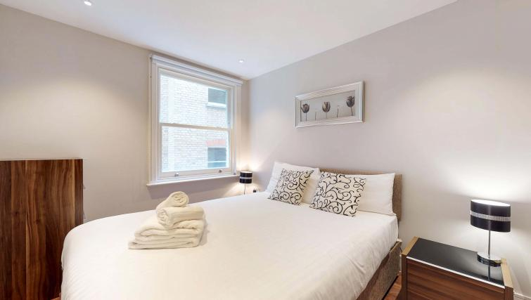 Bedroom at Lovat Lane Apartment - Citybase Apartments
