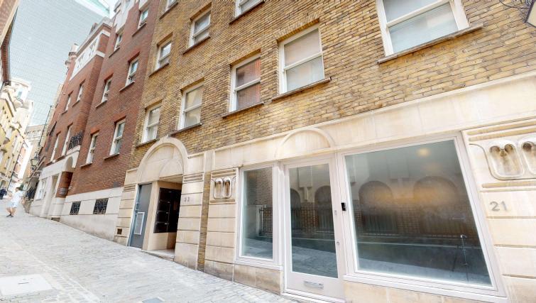 Exterior at Lovat Lane Apartment - Citybase Apartments