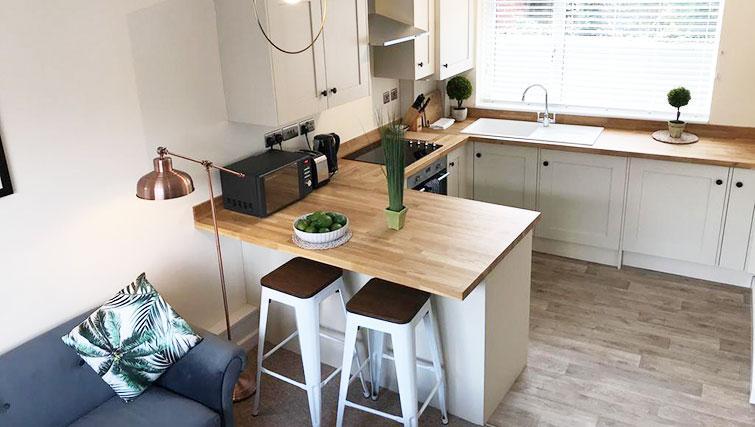 Kitchen at Oriel Suites - Citybase Apartments