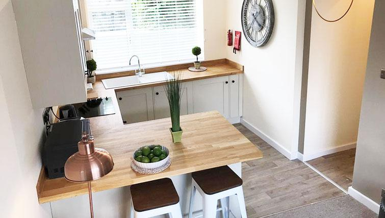 Modern kitchen at Oriel Suites - Citybase Apartments