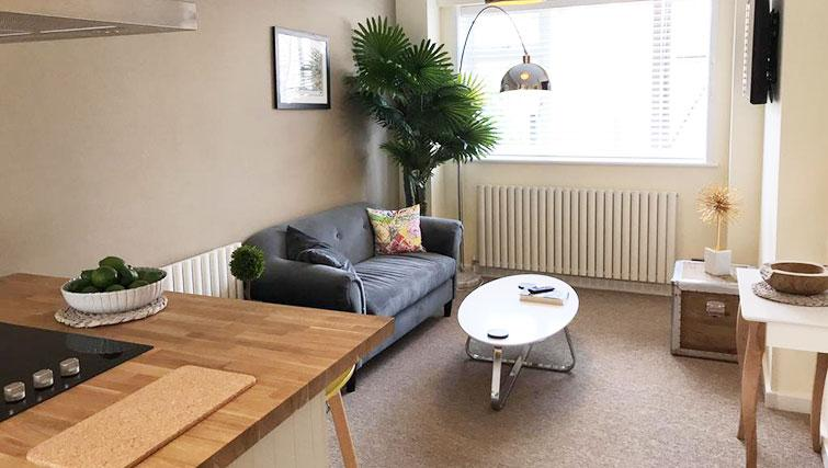 Living room at Oriel Suites - Citybase Apartments