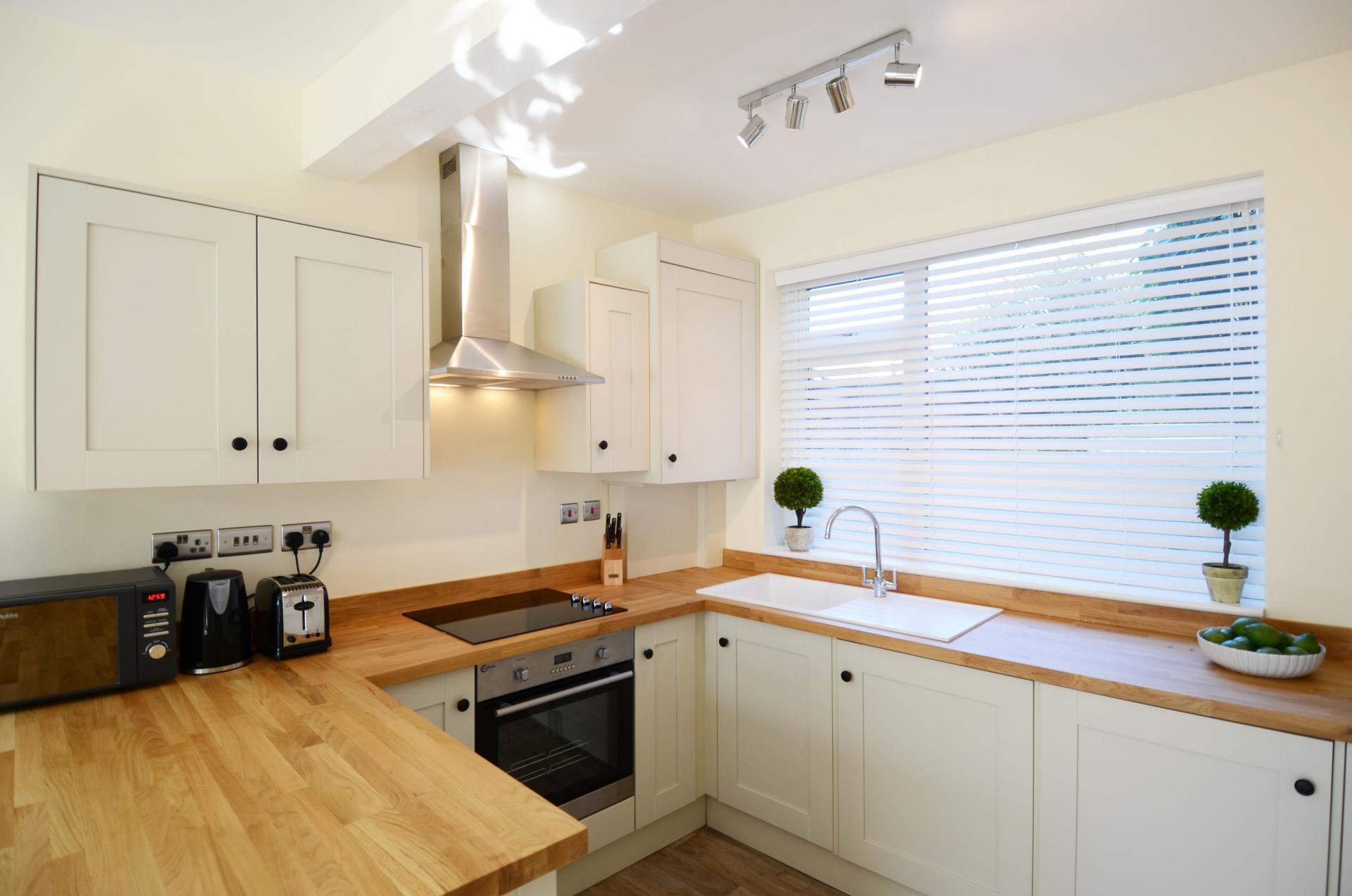 Kitchen facilities at Oriel Suites - Citybase Apartments
