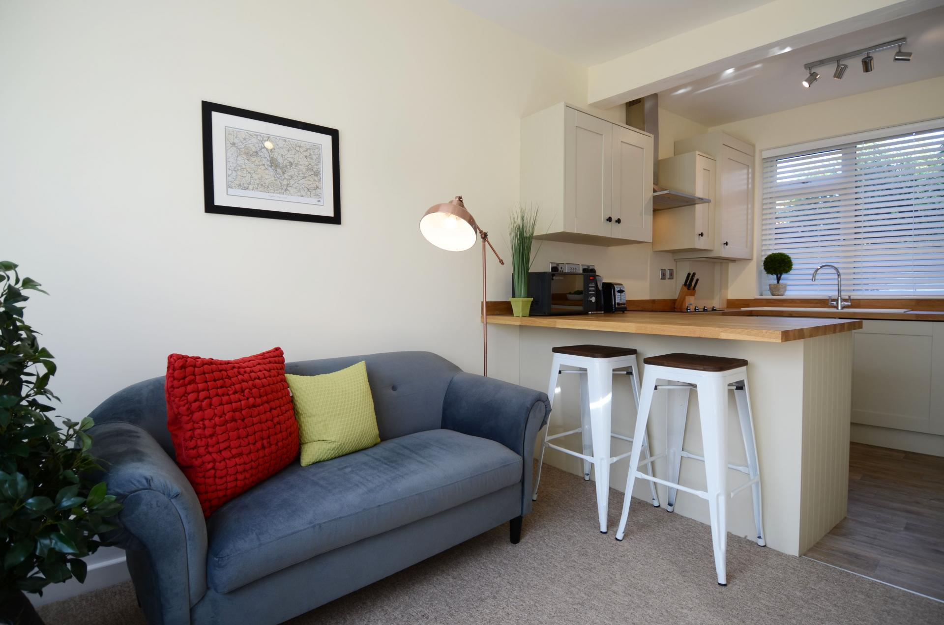 Sofa at Oriel Suites - Citybase Apartments