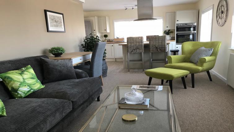 Sofa area at Oriel Suites - Citybase Apartments