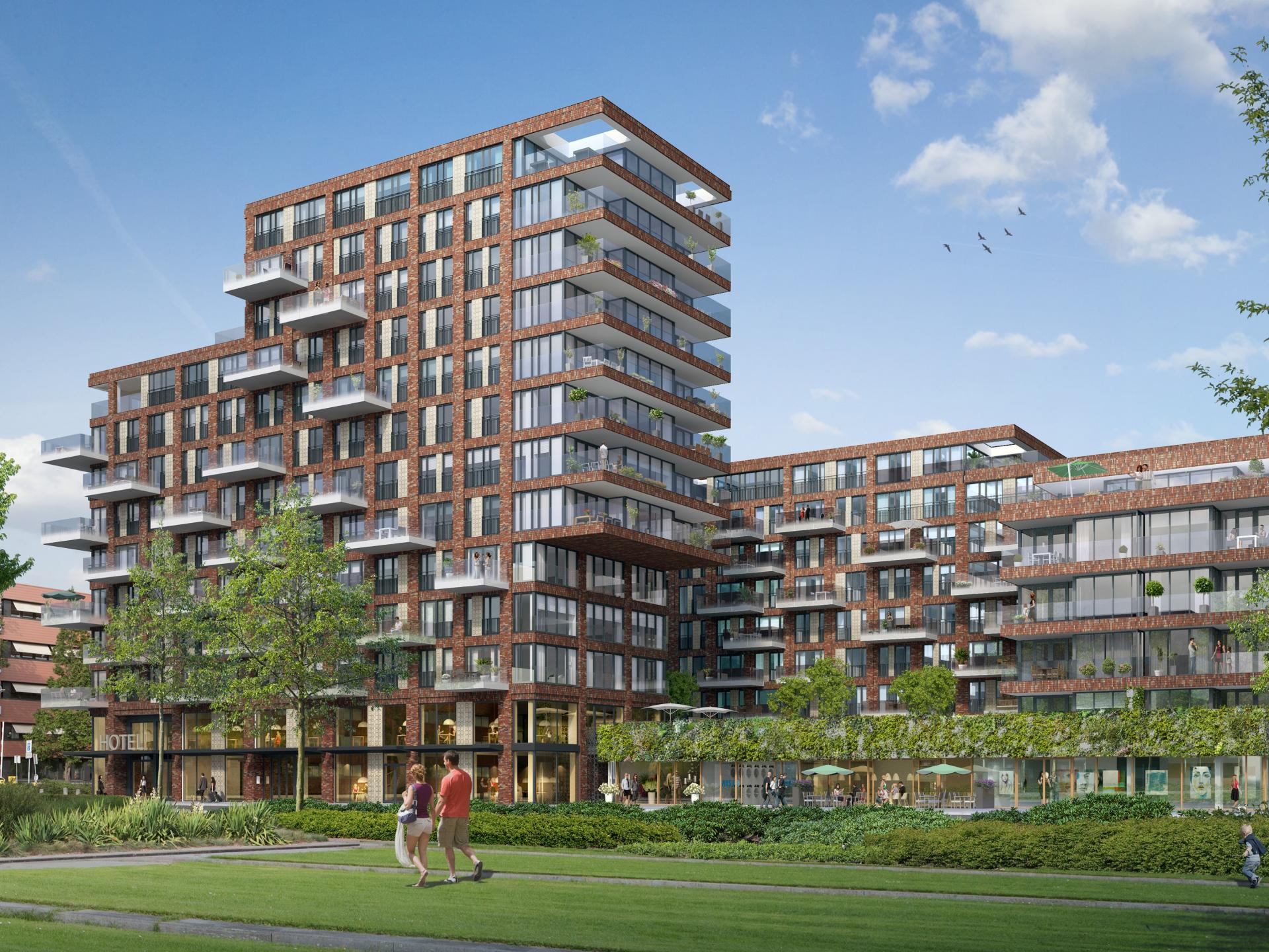 Exterior at The Garden Apartments, Amsterdam - Citybase Apartments
