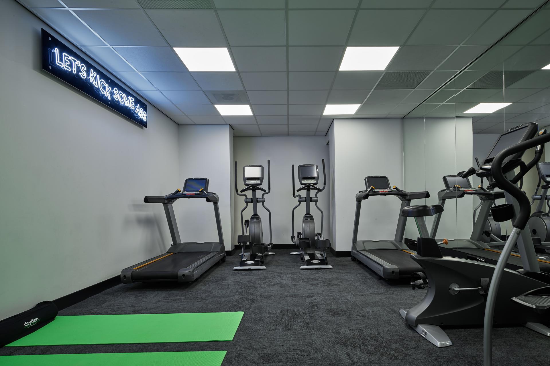 Gym at The Garden Apartments, Amstelveen, Amsterdam - Citybase Apartments