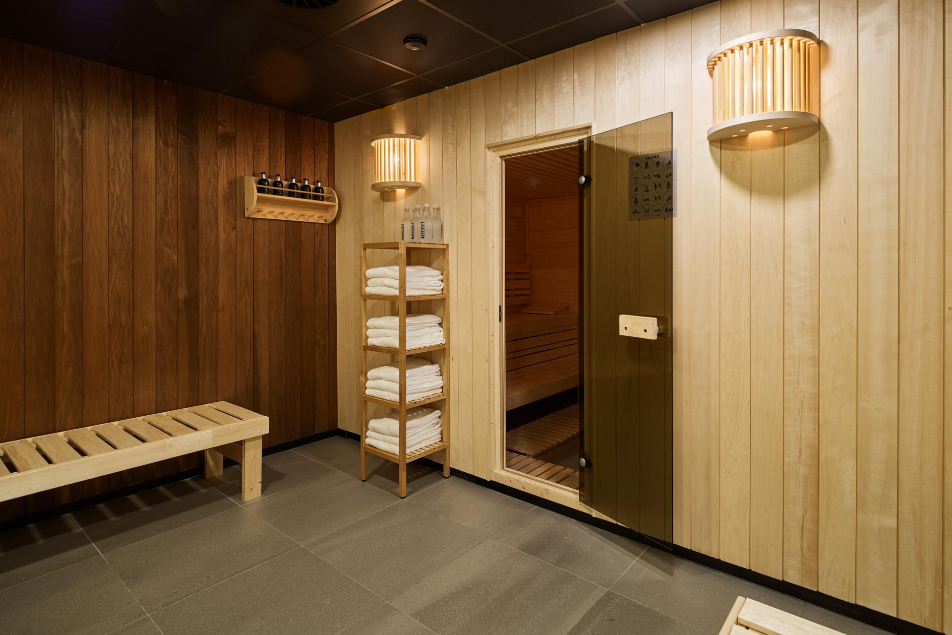 Sauna at The Garden Apartments, Amstelveen, Amsterdam - Citybase Apartments