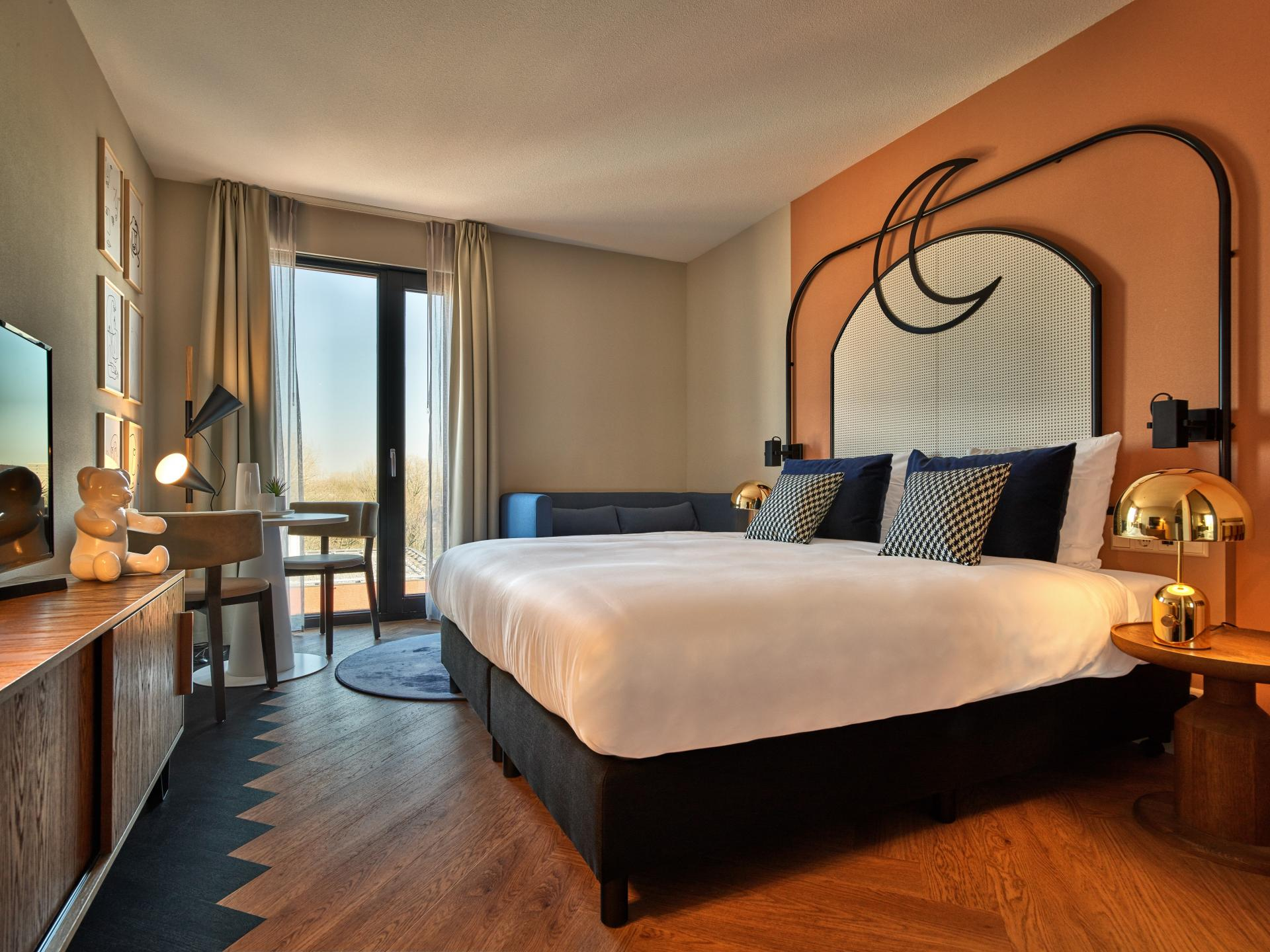 Bedroom at The Garden Apartments - Citybase Apartments