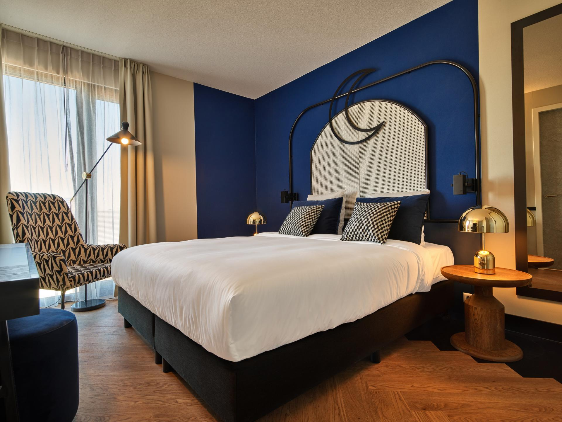 Comfy bed at The Garden Apartments, Amstelveen, Amsterdam - Citybase Apartments