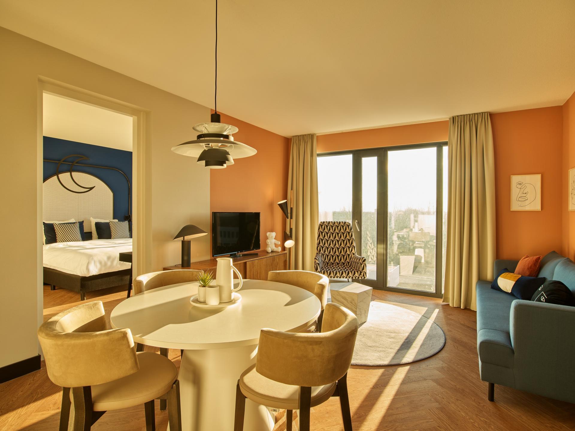 Table at The Garden Apartments, Amstelveen, Amsterdam - Citybase Apartments