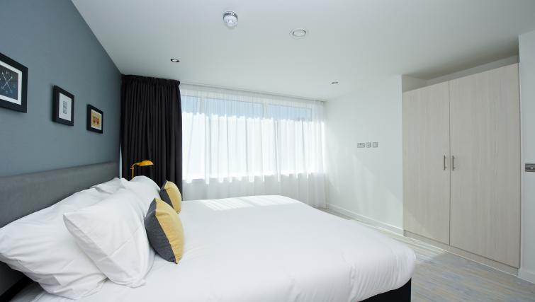 Bedroom at Staycity Liverpool Waterfront - Citybase Apartments