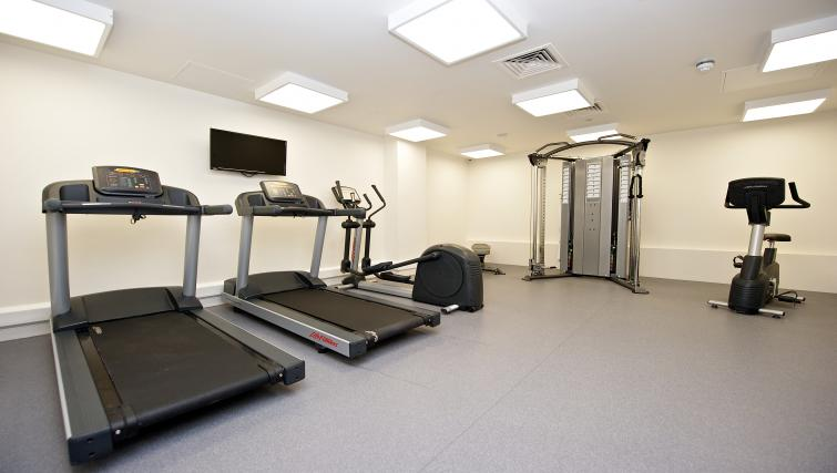 Gym area at Staycity Liverpool Waterfront - Citybase Apartments