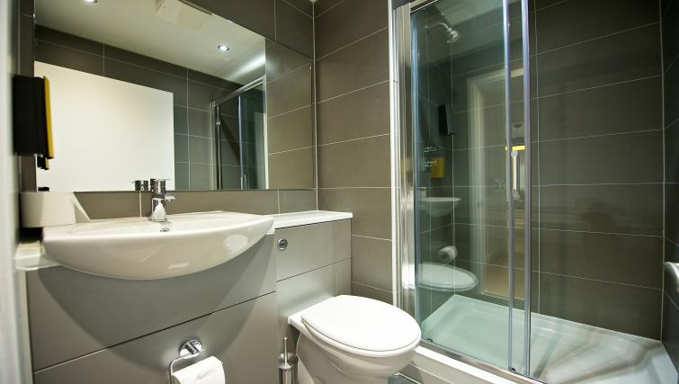 Bathroom at Staycity Liverpool Waterfront - Citybase Apartments