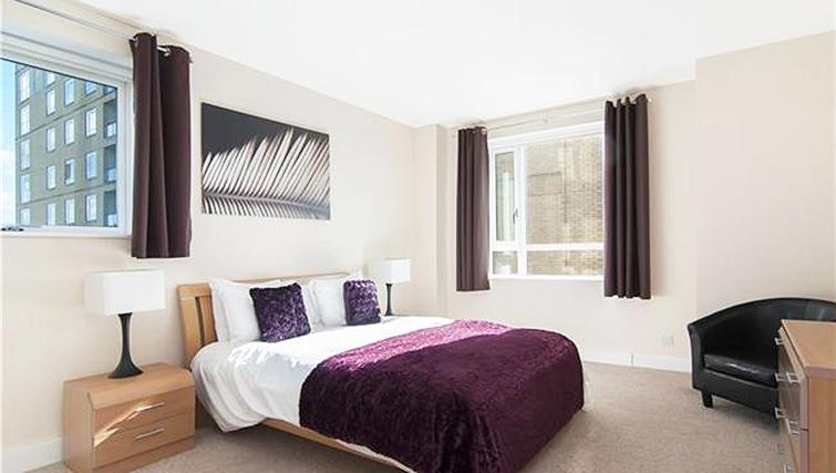 Comfortable bedroom at Belgrave Court Apartments - Citybase Apartments