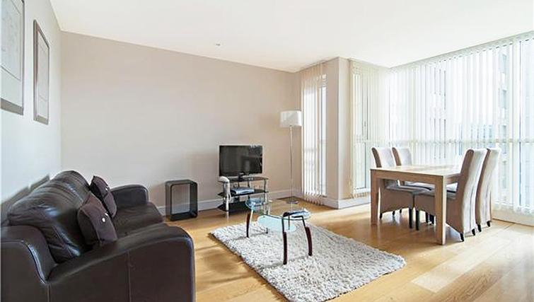 Charming living area at Belgrave Court Apartments - Citybase Apartments