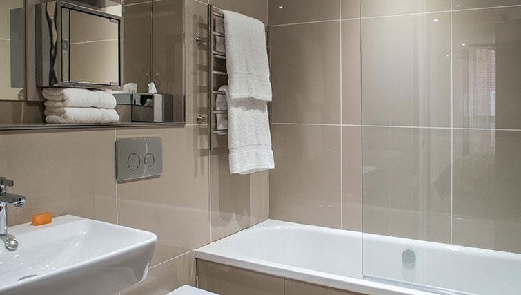Bathroom at The Chronicle Aparthotel - Citybase Apartments
