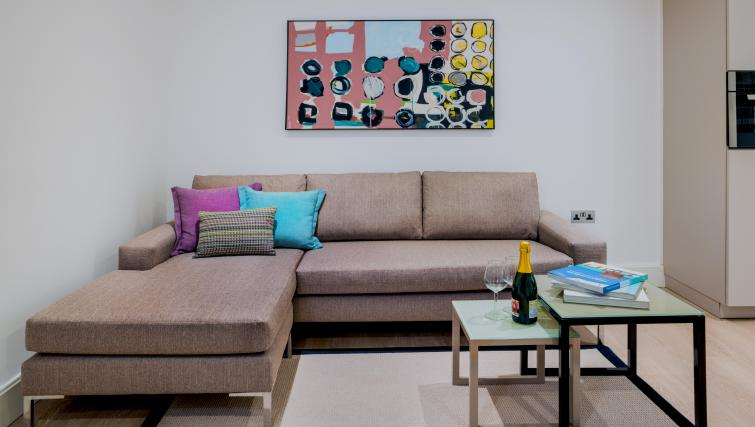 Living room at The Chronicle Aparthotel - Citybase Apartments