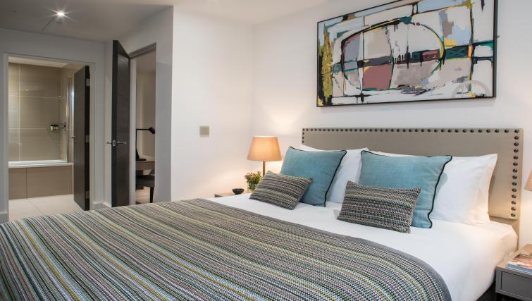 Bedroom at The Chronicle Aparthotel - Citybase Apartments
