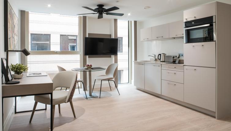 Kitchen at The Chronicle Aparthotel - Citybase Apartments