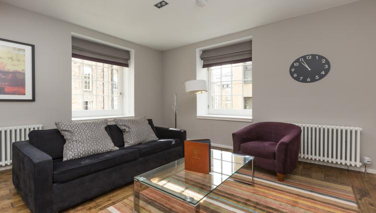 Living room at Malt House Apartments - Citybase Apartments