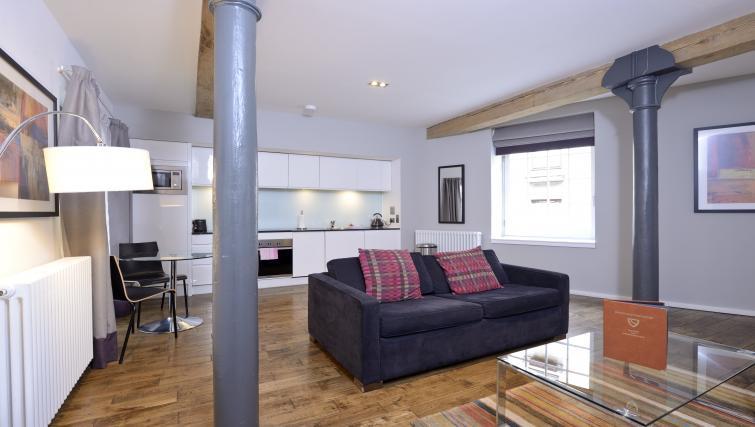 Sofa at Malt House Apartments - Citybase Apartments