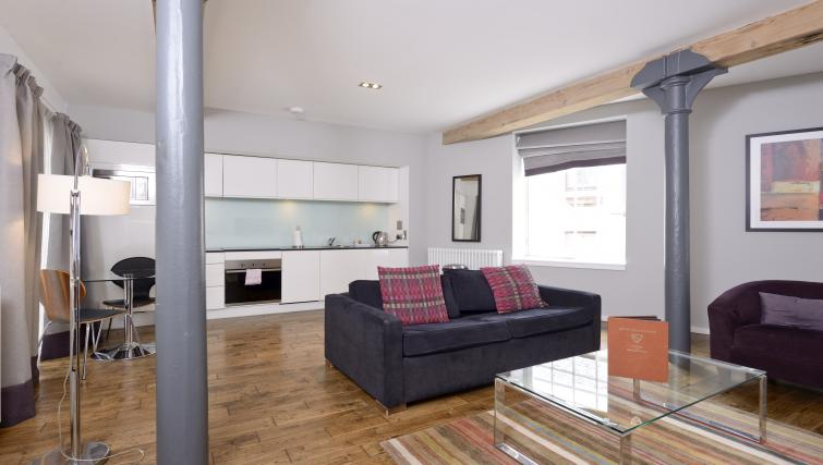 Wooden floor at Malt House Apartments - Citybase Apartments