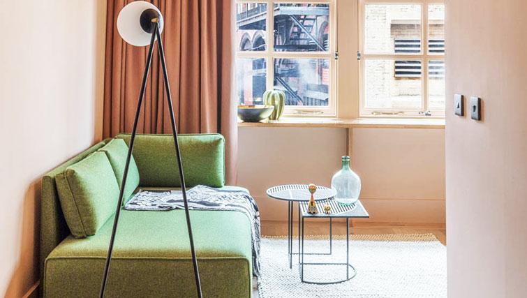 Living room at Whitworth Locke Apartments - Citybase Apartments