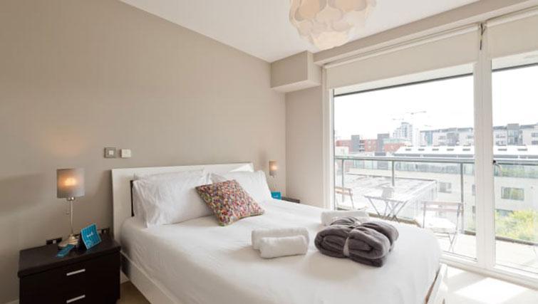 Bedroom at Riverside Quay Apartments - Citybase Apartments