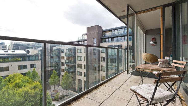 Balcony at Riverside Quay Apartments - Citybase Apartments