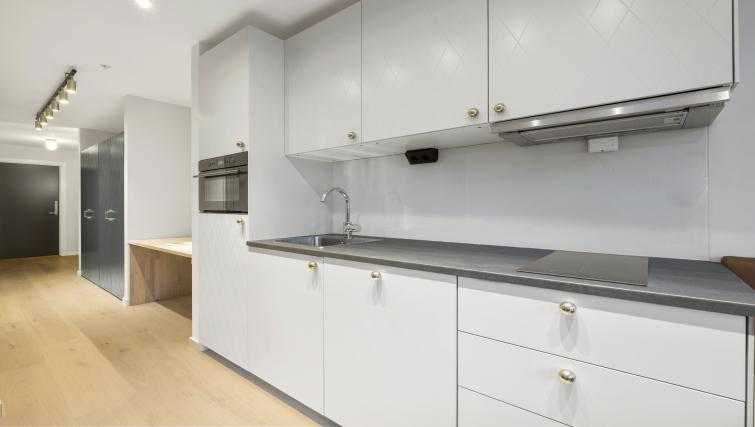 Kitchen at Verksgata Apartments - Citybase Apartments