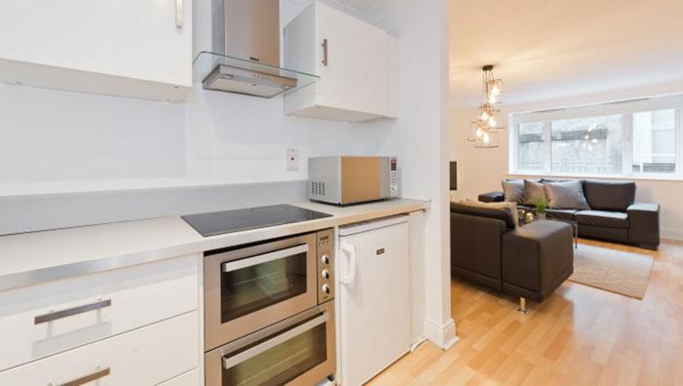 Kitchen facilities at Central Trinity Exchange Apartment - Citybase Apartments